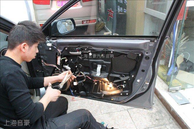 马自达6汽车音响改装,升级喇叭,功放,超低音