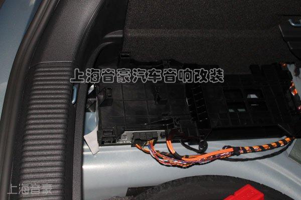 上海音豪 奥迪A1汽车音响改装,摩雷喇叭 MOSCONI功放,高端高清图片