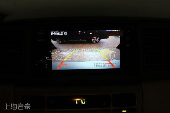 上海音豪:丰田花冠安装欧华dvd导航,倒车影像系统!