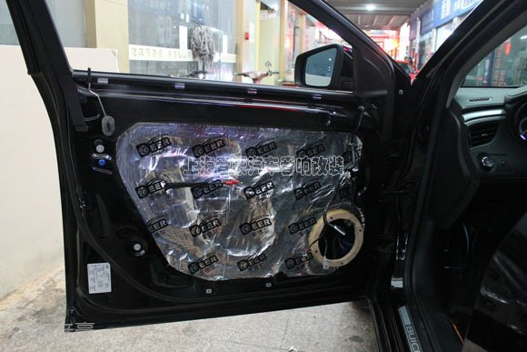 别克新君越汽车音响升级改装   前门喇叭:以色列摩雷都达两分频套装