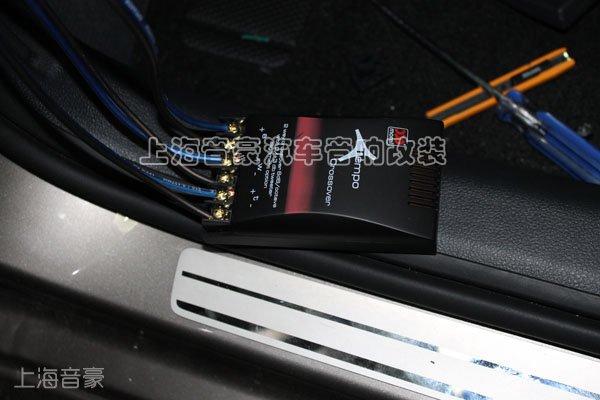 上海音豪:帕萨特汽车音响升级摩雷听宝 玛仕舞喇叭