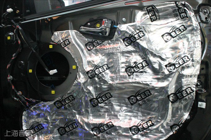现代ix35汽车音响改装,四门隔音!