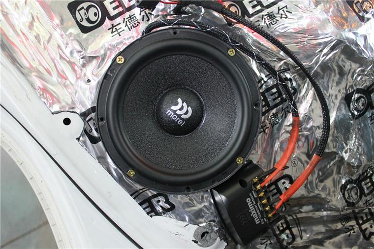 斯柯达野帝音响改装升级两套摩雷玛仕舞喇叭——上海音豪