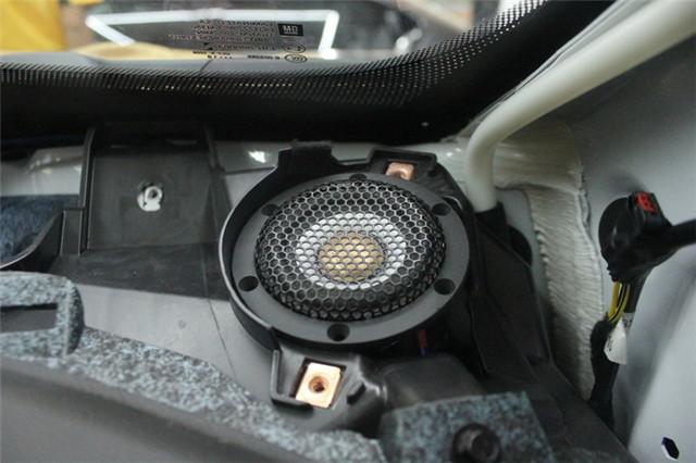 人声无限 别克昂科威汽车音响改装美国ap全频喇叭