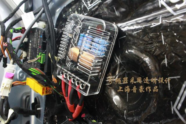音乐世界 奔驰e260l汽车音响改装德国伊顿pro175.2 两分频